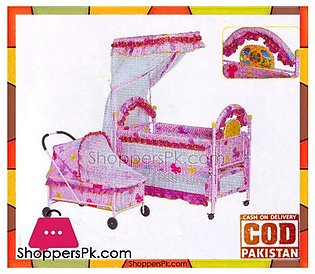 Baolimei Metal Baby Cradle and Cot 259
