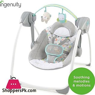 Comfort 2 Go Portable Swing – Fanciful Forest