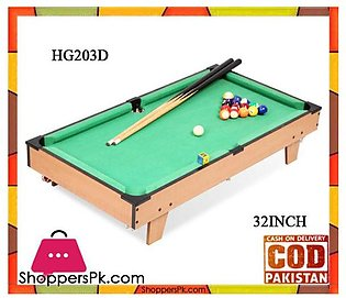 Billiard Pool Table Toy Game for Kids 32 Inch HG203D