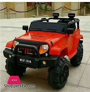 Jeep BLF – 218 Electric Ride on Toy Car for Kids