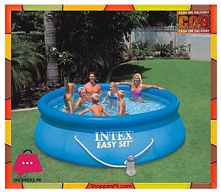 Intex Easy Set Up 12 Foot x 36 Inch Pool with Filter Pump – 56931