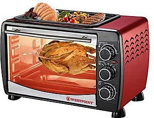 Westpoint WF2400 Toaster Oven with Hot Plate