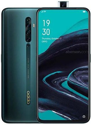 Oppo Reno 2F Dual Sim (4G, 8GB RAM, 128GB ROM,Green) with 1 Year Official War...