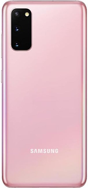 Samsung Galaxy S20 Dual Sim (4G, 8GB, 128GB, Cloud Pink) With Official Warranty