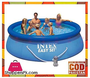 Intex Easy Set Up 12 Foot x 36 Inch Pool with Filter Pump – 28146