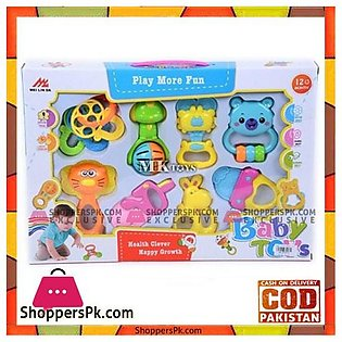 Play More Fun Rattle Set Baby Toys