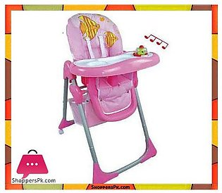 High Quality Pink Fish Baby High Chair