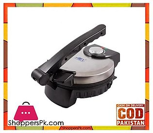 Anex AG-3062 – Deluxe Roti Maker – Black & Silver