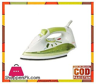 Westpoint WF-2021 – Deluxe Steam Iron – White & Green