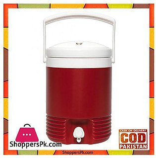 IGloo Legend 2 Gallon Drinks Cooler Insulated Beverage Jug Red #02214