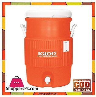 IGloo Full Size Beverage 5-Gallon Seat Top Water Cooler #42316