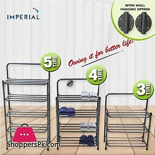 Imperial Heavy Duty 5 Tier Shoe Rack