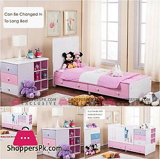 Multi-Functional Baby Cot Bed Baby Crib With Removable Drawers 503A