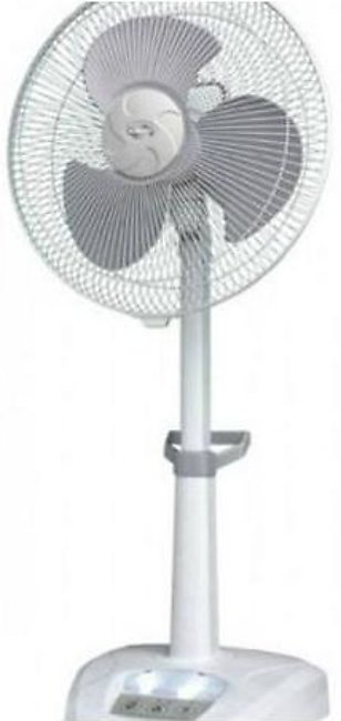 Rechargeable Stand Fan Dual Battery