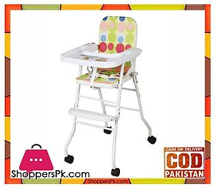 High Quality Portable Baby High Chair With Wheels