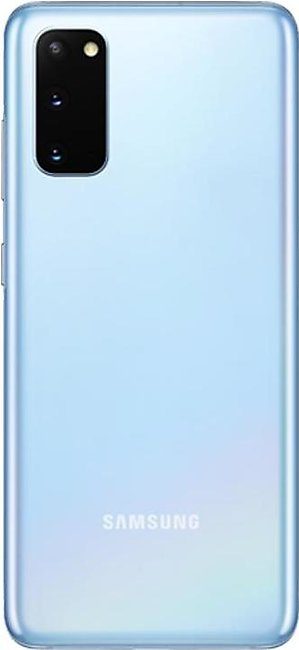 Samsung Galaxy S20 Dual Sim (4G, 8GB, 128GB, Cloud Blue) With Official Warranty