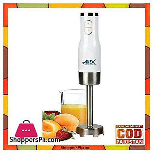 ANEX AG-131 HAND BLENDER WITH SPEED CONTROLLER – WHITE