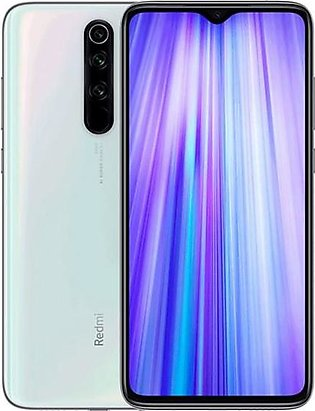 Xiaomi Redmi Note 8 Pro (4G, 6GB RAM, 128GB ROM, Pearl White) With 1 Year Offic…