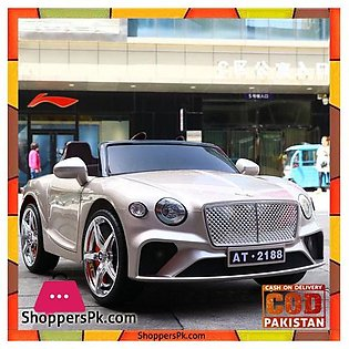 Bentley New Continental GT – Kids Ride On Car Battery Powered RC Remote Contr...