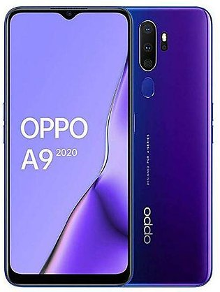 Oppo A9 2020 (4G, 8GB RAM, 128GB ROM,Purple) With 1 Year Official Warranty