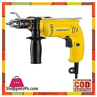 Stanley Sdh600 600W 13Mm Percussion Drill-Yellow & Black