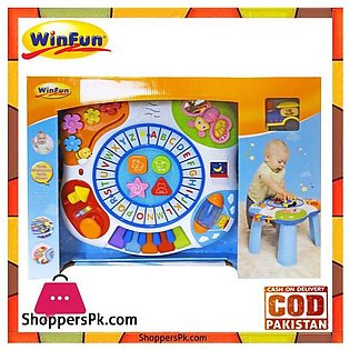 Winfun Letter Train and Piano Activity Table Kids Toy