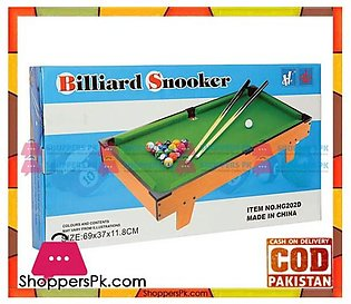 WOODEN SNOOKER TABLE – 27 INCH