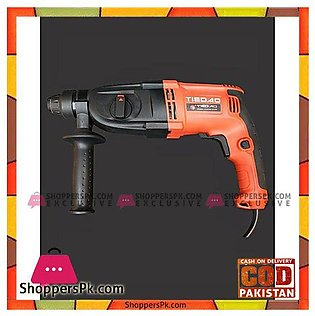 Rotary Hammer 26mm Drill Machine – 100% Copper – Red