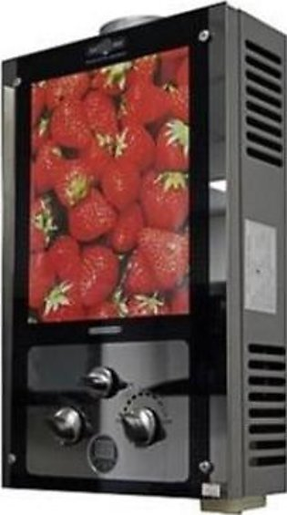 Nasgas Strawberry Design Glass Instant Geyser DG6L