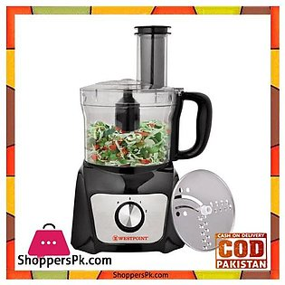 Westpoint Chopper With Vegetable Cutter With Powerful Motor – WF-496