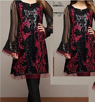 Lawn Sequins Heavy Embroidered 2-Pcs Dress 2021 (Unsitched) UnStitched (DRL-642)