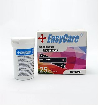 Easy Care Blood Glucose - 50 Test Strips