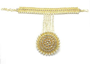 Zircon Bracelet Attached with Ring (Panjangla) (PS-95)