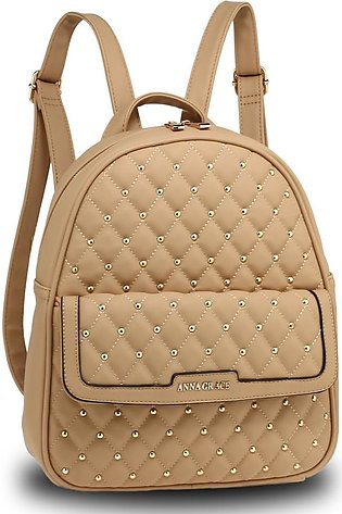 AG00712 – Nude Fashion Backpack School Bag