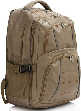 LS00444 Nude Backpack Rucksack School Bag