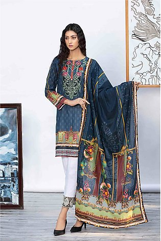 DPL20-45 Suit | Embroidered | 2 Pc