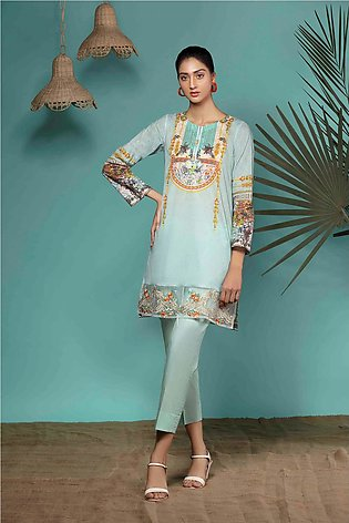DPL20-71 Suit | Embroidered | 2 Pc