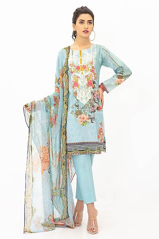 DPL20-300 Suit | Embroidered | 3 Pc
