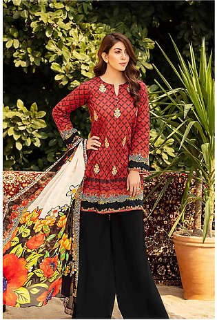 DPL20-35 Suit | Embroidered | 2 Pc