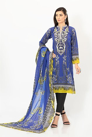 DPL20 456 Suit | Embroidered | 2 Pc