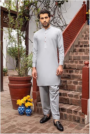 LM-1493 Suit Light Grey