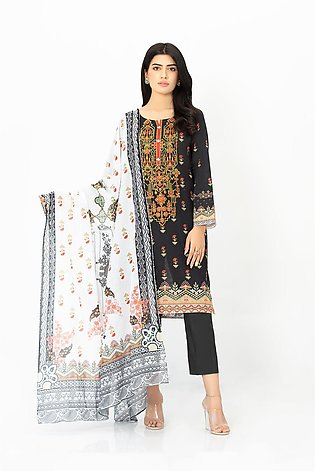 DPL20 458 Suit | Embroidered | 2 Pc
