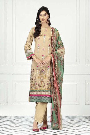 DPL20 145 Suit | Embroidered | 3 Pc