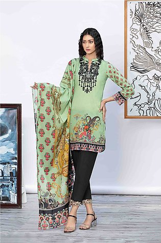 DPL20-42 Suit | Embroidered | 2 Pc