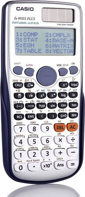 Casio Scientific Calculator FX-991ES Plus Natural-V.P.A.M