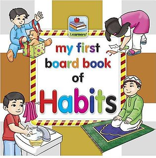 My First Board Book Of Habits For Kids - 2097