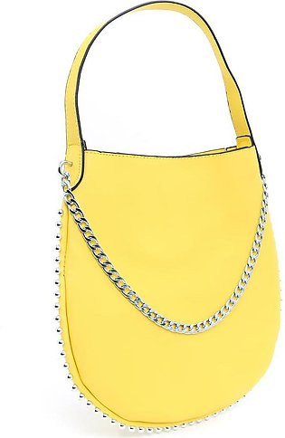 Yellow Color Casual Shoulder Bags P34752