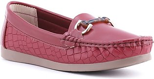 Maroon Color Winter Moccasin WN4107