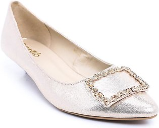 Fawn Color Formal Court Shoes WN7074