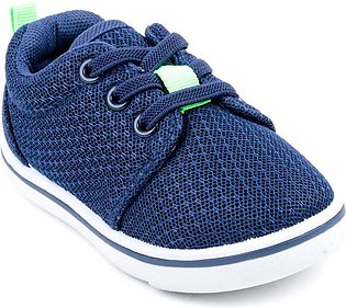 Navy Color Stylo Baby Booties KD7012